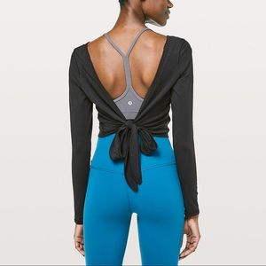 lululemon athletica Tops - Lululemon it's a tie long sleeve top